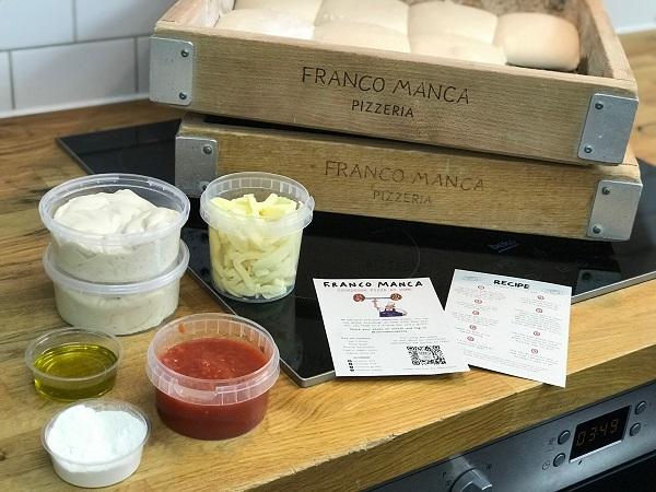 pizza making kit from Franco Manca.