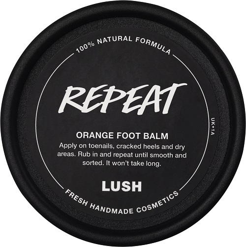 An image of the packaging of Repeat Orange Foot Balm.