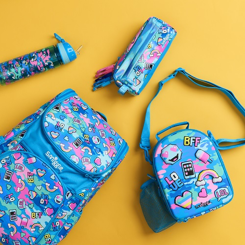 Images of smiggle back to school products.