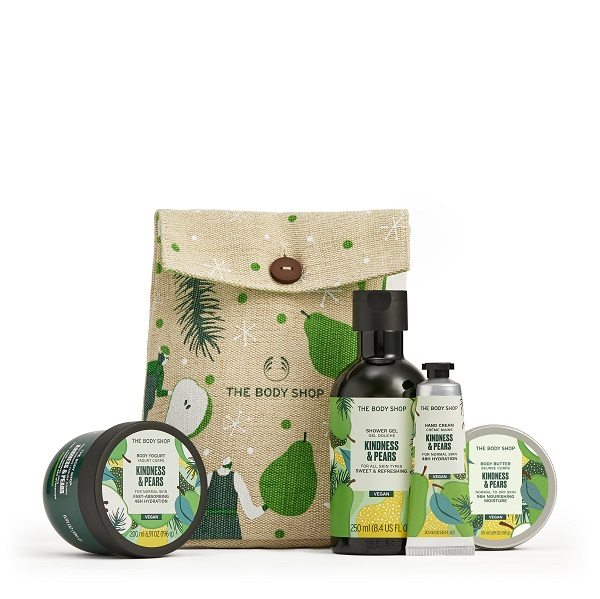 Kindness and pears gift set.
