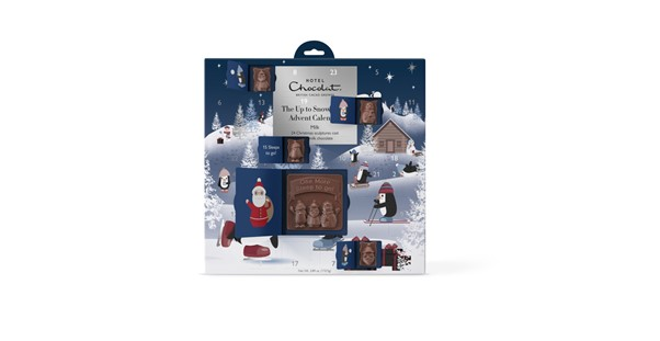 Up to snow good advent calendar from Hotel Chocolat