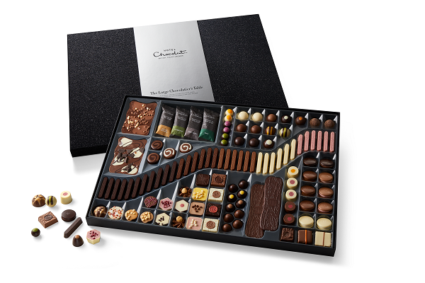 large box of mixed chocolates