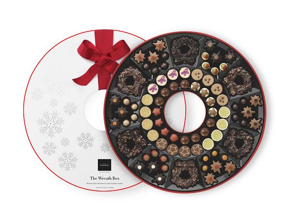 round box of chocolate