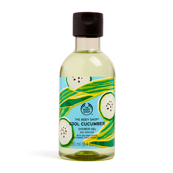 The Body Shop Cool Cucumber Shower Gel Image