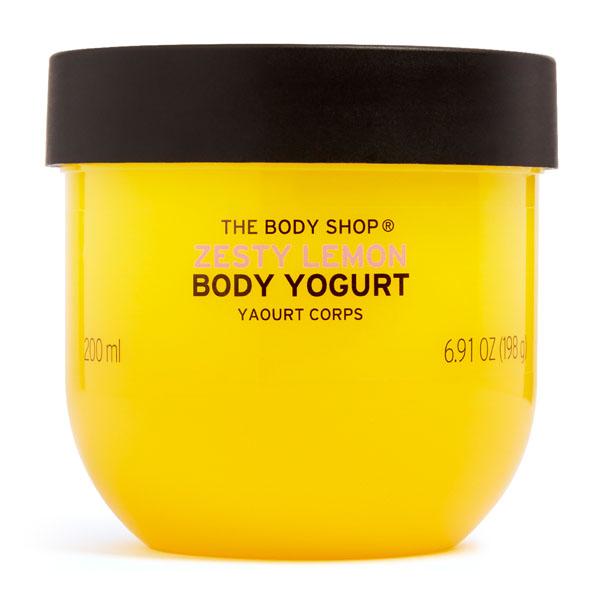 The Body Shop Zesty Lemon Body Yogurt Image