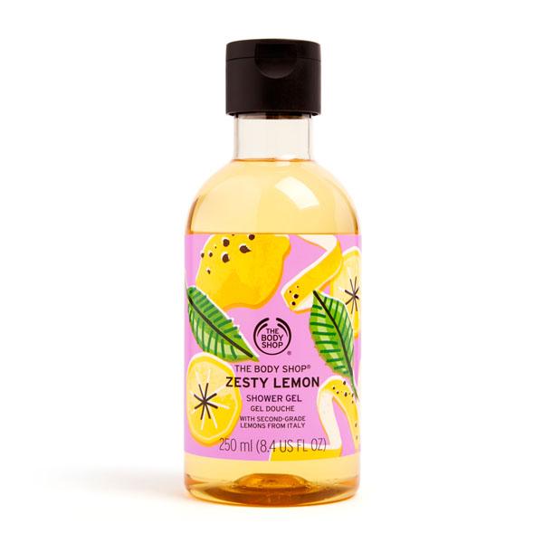 The Body Shop Zesty Lemon Shower Gel Image