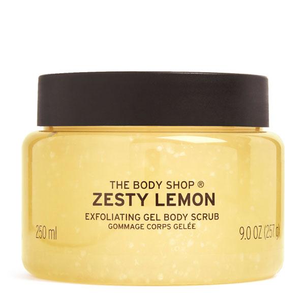 The Body Shop Zesty Lemon Exfoliating Gel Image