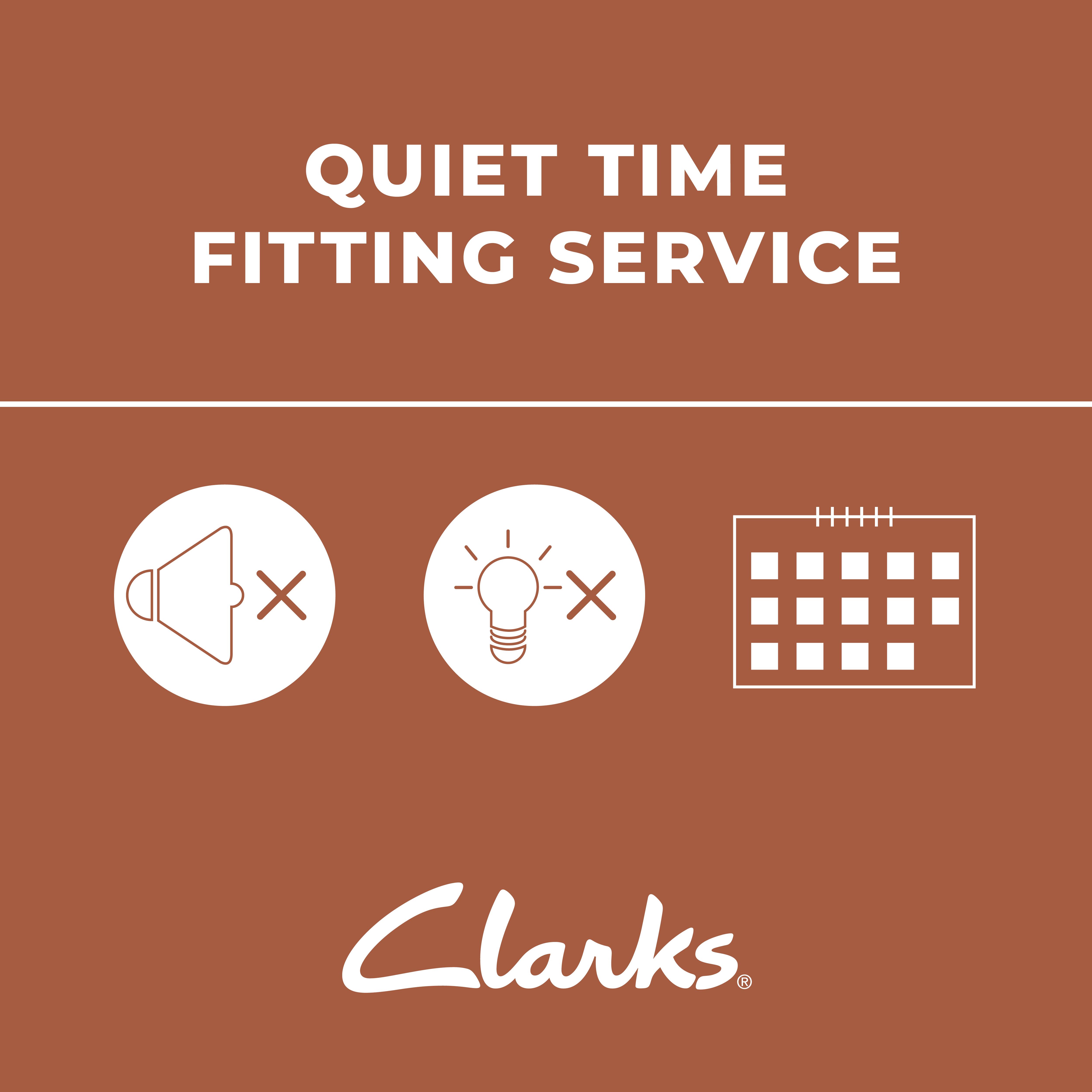 clarks quiet time