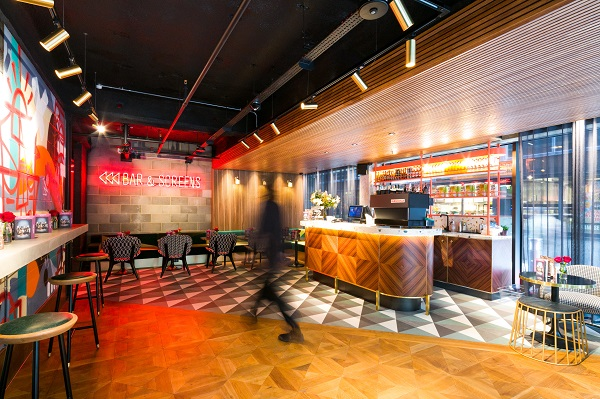 Inside Everyman Cinema at Broadgate