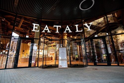 Entrance to Eataly.