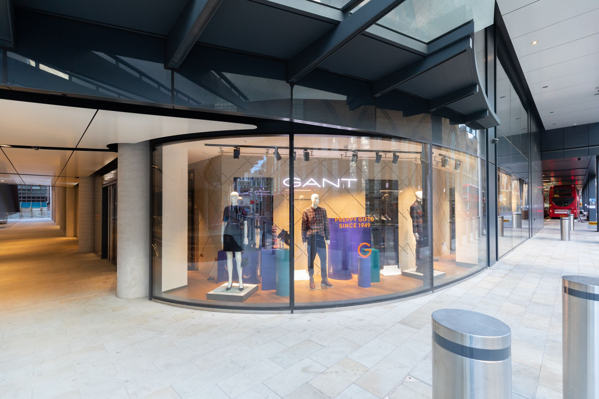 Store front of Gant