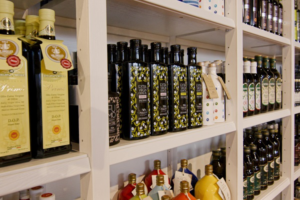 Selection of Olive Oils available from Eataly Broadgate