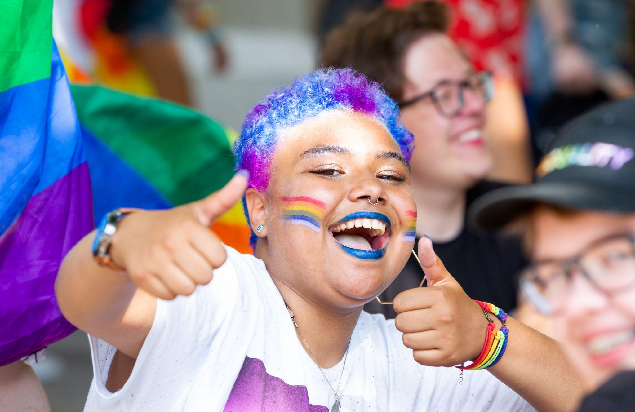 History of London Pride Parade - Pride in London - Broadgate