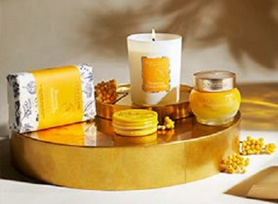 Various L'occitane products