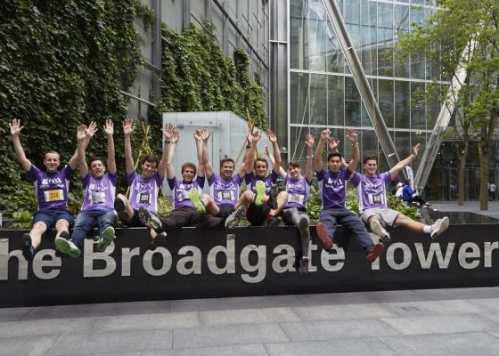 How Broadgate supports LandAid