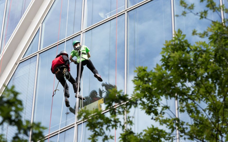 Could you abseil the Broadgate Tower?
