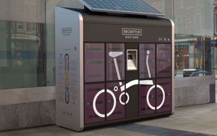 Brompton Bike Hire comes to Broadgate