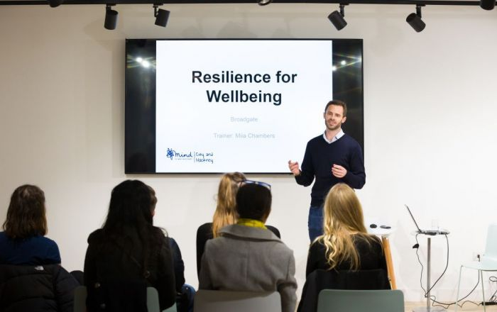 World Mental Health Day: Mind in the City, Hackney and Waltham Forest