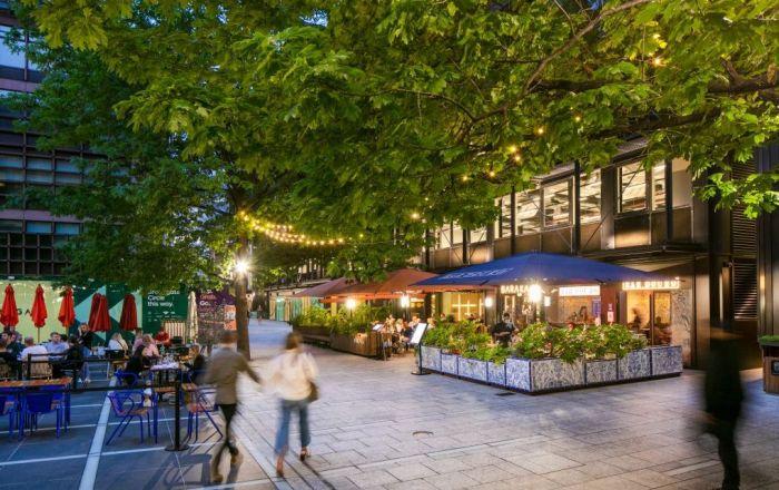 Bars at Broadgate