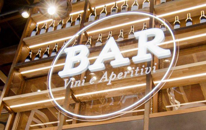 Bar at Eataly Broadgate in London