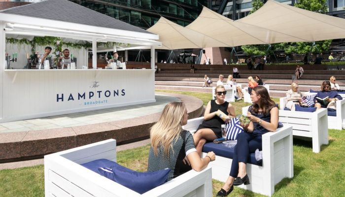 The Hamptons brings a touch of American chic to London
