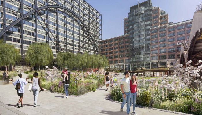 New park planned in Exchange Square