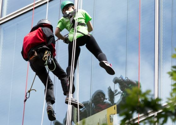 Abseil the tower