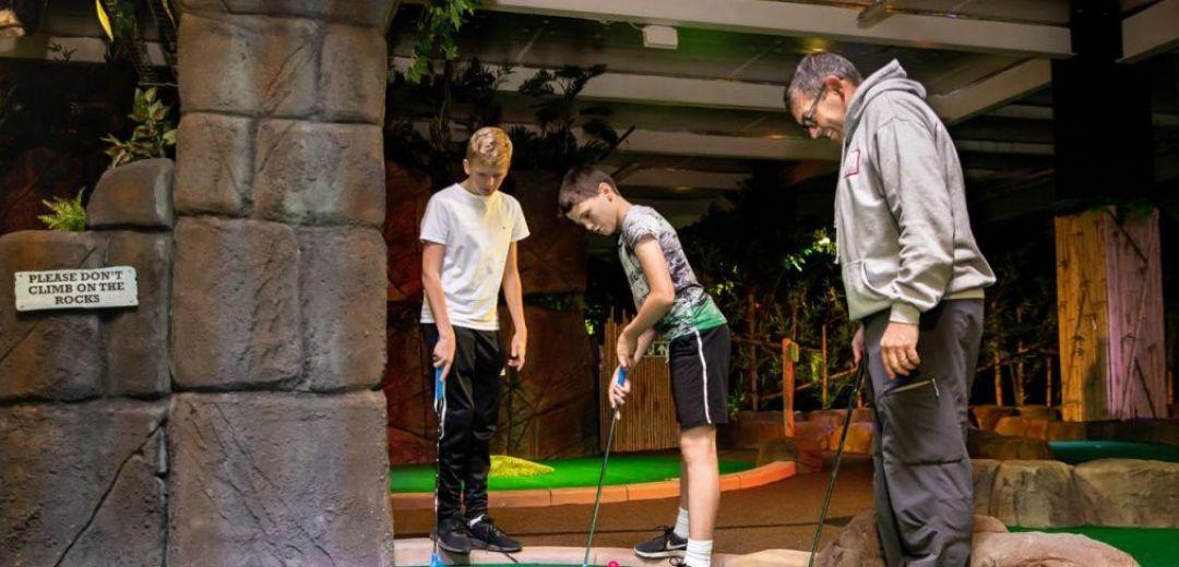 Paradise Island Adventure Golf | Family Ticket