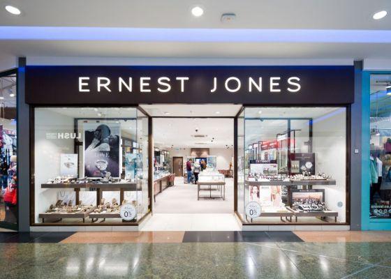 Ernest Jones store front.