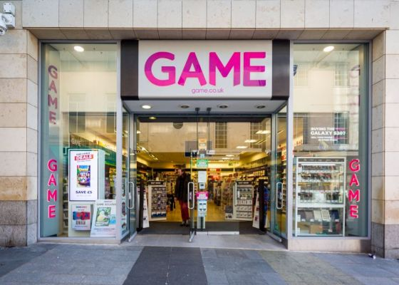 Game Store Front