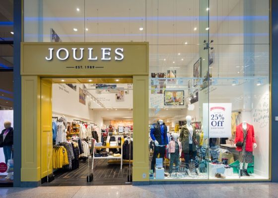 Joules store front.