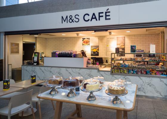 M&S Cafe.