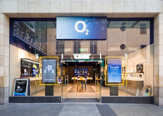 O2 store front.