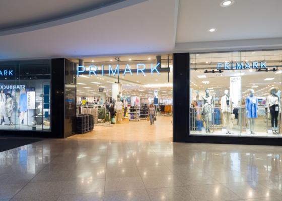 Primark store front.