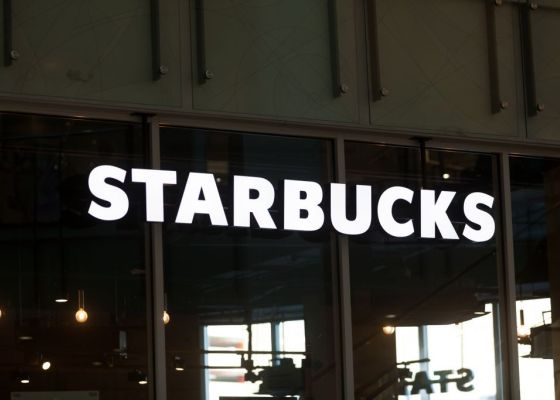 Starbucks store sign