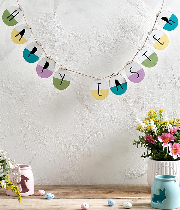Next Easter garland