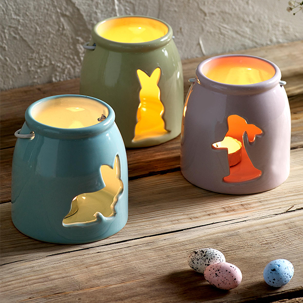 Easter candle lanterns from Next