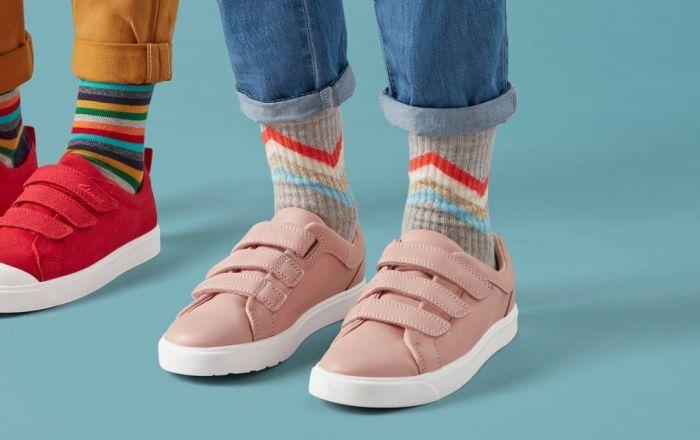 Clarks kids shoe fitting