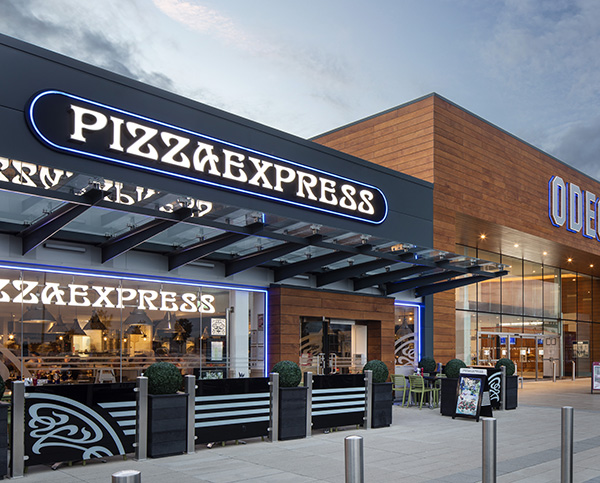 PizzaExpress store front