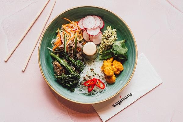 Hiyashi bowl from wagamama