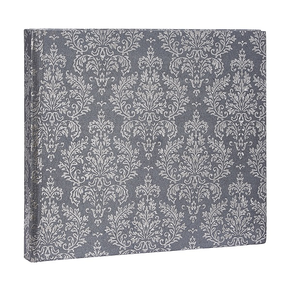 A patterned grey photo album from Homesense.