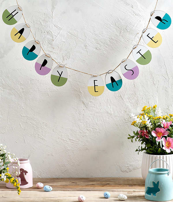 Next Easter garland