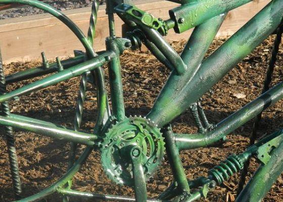 Park up - a new sculpture at Fort Kinnaird