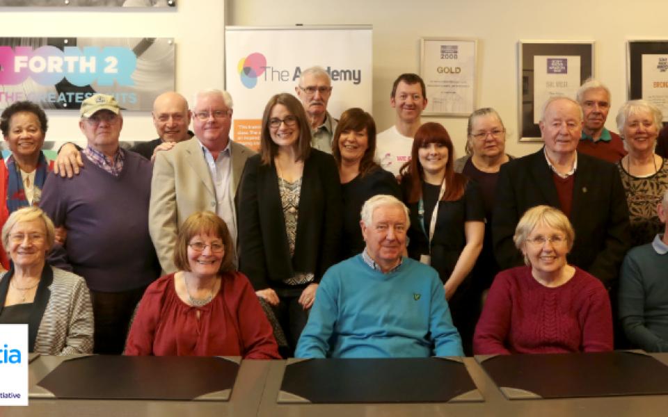 Edinburgh Dementia Group creates lasting memories