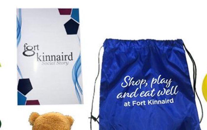 Sensory Backpacks at Fort Kinnaird