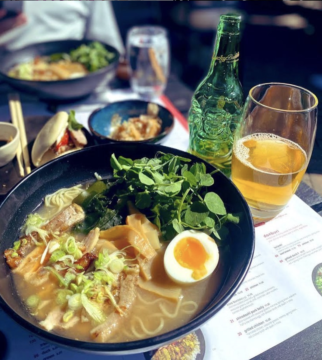 Food options from wagamama