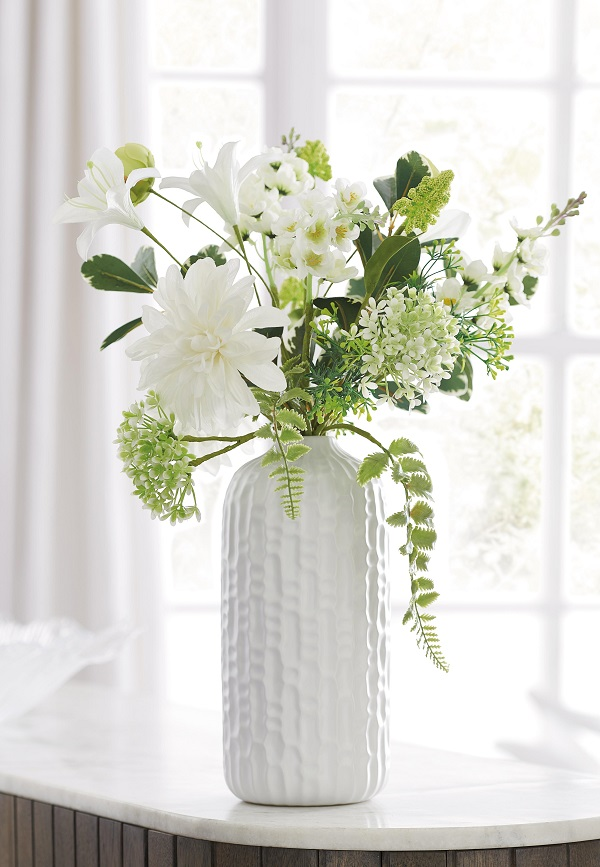 Flowers and vase from Next
