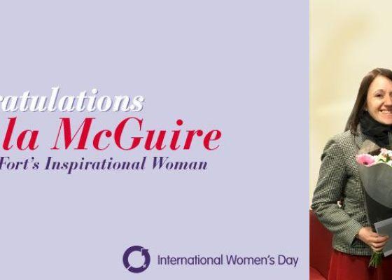 Paula McGuire - IWD Winner