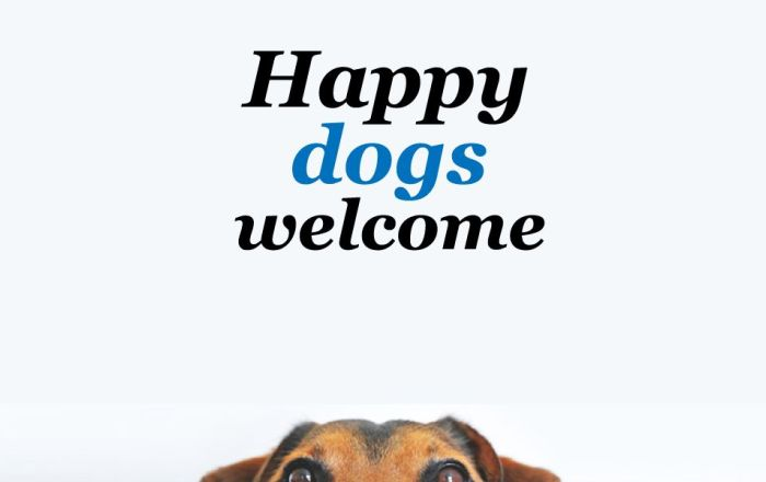 Happy Dogs Welcome Thumbnail image