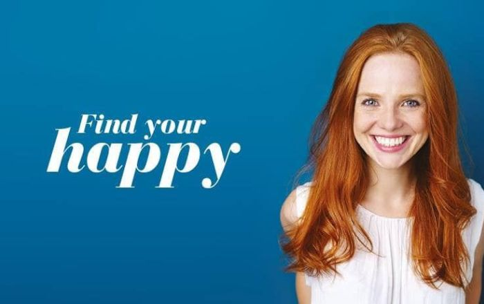 Find your happy in what's new